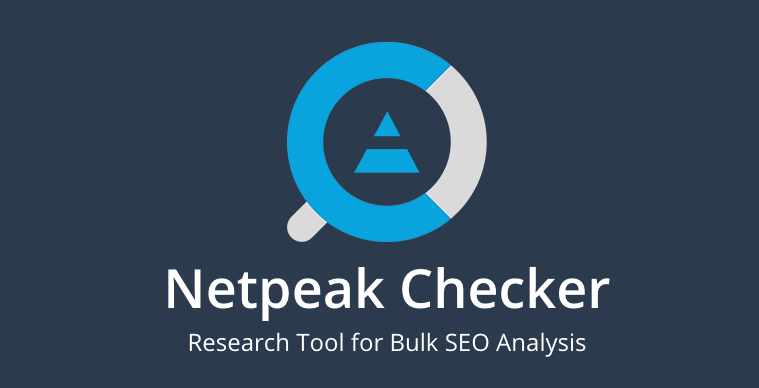 Netpeak Checker